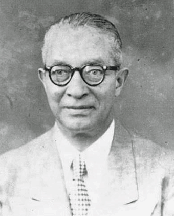 A distinguished J.C. in the 1950s